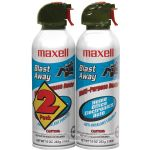 Maxell 2-pk Blast Away Canned