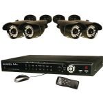 Security Labs 8ch 1tb Dvr Sys & 4 Cams