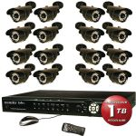Security Labs 16ch H.264 Dvr 1tb 16 Cam