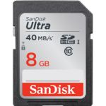 SanDisk 8GB Ultra UHS-I SDHC Memory Card (Class 10)