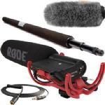 Rode VideoMic & Micro Boompole Kit with Custom Windbuster