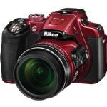 Nikon Coolpix P610 Digital Camera (Red)