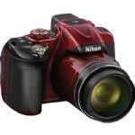Nikon Coolpix P600 Digital Camera (Red)